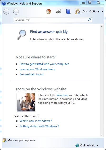 windows help number