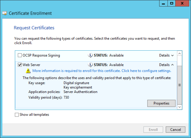 Welcome to nextxpert an experts view on microsoft technology in the certificate properties configure the subject name and alternative names when applicable and click ok yelopaper Image collections